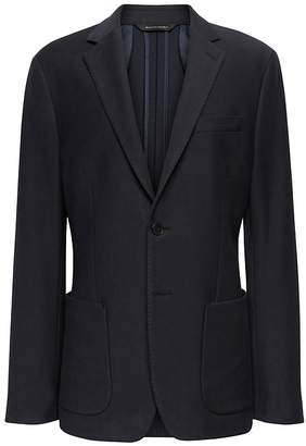 Banana Republic Slim Motion-Stretch Cotton Suit Jacket