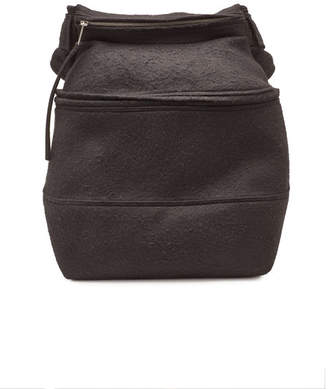 At Stylebop Rick Owens Backpack With Camel Hair And Linen