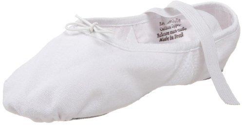 Leo's Unisex 077 Air-Abesque Canvas Ballet Flat