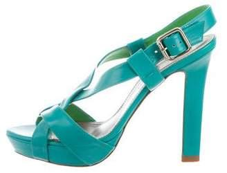 Versace Crossover Platform Sandals