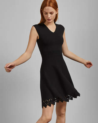 Ted Baker TANNIA Cut-out skater dress