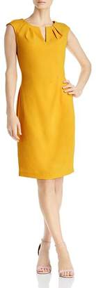 Adrianna Papell Pleat-Detail Sheath Dress