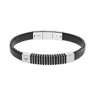 d54d9cd7 Emporio Armani Men Stainless Steel ID Bracelet - EGS2536040