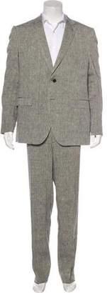 Etro Linen-Blend Suit