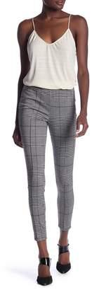 June & Hudson Plaid High Waist Trousers