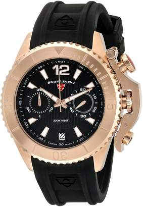 Swiss Legend Men's Scorpion Silicone Watch