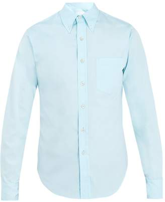 Prada Single-cuff cotton-oxford shirt