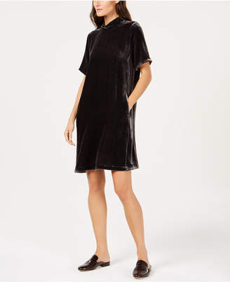 Eileen Fisher Velvet Tie-Back Dress, Regular & Petite