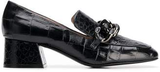 Alberto Gozzi crocodile-embossed pumps