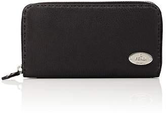 Fendi Women's Selleria Leather Zip-Around Wallet