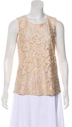 Nicholas Sleeveless Lace Top