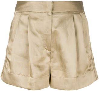 Just Cavalli metallic shorts