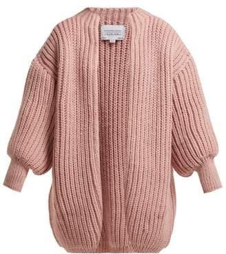 I love mr mittens I Love Mr Mittens - Kolette Oversized Wool Cardigan - Womens - Pink