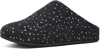FitFlop Chrissie Dotty Glitz Felt Slippers