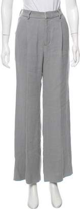 Creatures of Comfort High-Rise Linen Pants