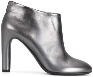 Del Carlo metallic heeled shoes