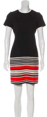 Calvin Klein Striped Mini Dress