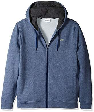 Lacoste Men's Full Zip Hoodie Fleece Sweatshirt