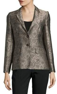 Max Mara Brocade Jacket