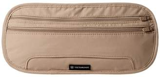 Victorinox Deluxe Concealed Security Belt with RFID Protection Wallet