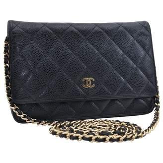 69e3bd7420595 Black Leather Shoulder Bag - ShopStyle UK