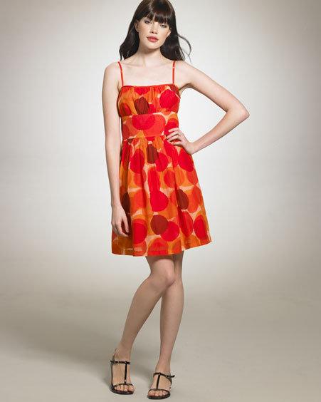 Theory Printed Cami Dress