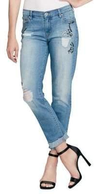 Jessica Simpson Mika Embellished Jeans