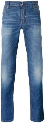 Ermanno Scervino stonewashed slim-fit jeans