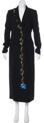 Christopher Kane Long Wool Coat