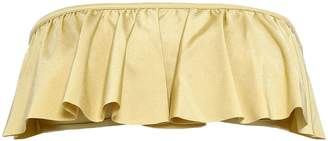 Love Stories Strapless Metallic Stretch-jersey Bandeau Bikini Top