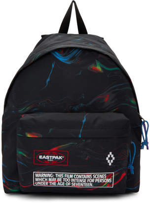 Marcelo Burlon County of Milan Black Eastpak Edition Glitch County Padded Pakr Backpack