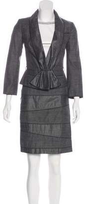 Paule Ka Knee-Length Dress Set