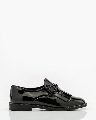 Le Château Patent Round Toe Loafer