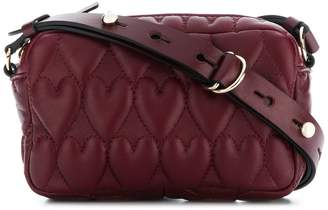 RED Valentino RED(V) heart quilted crossbody bag