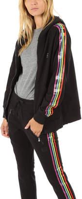 Baja East Rainbow Zip Hoodie