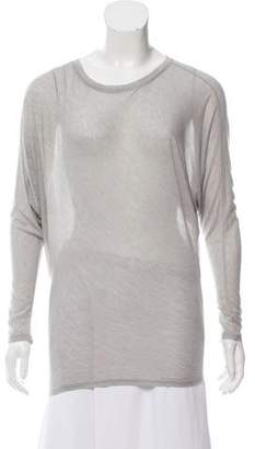 L'Agence Mélange Dolman Sleeve T-Shirt