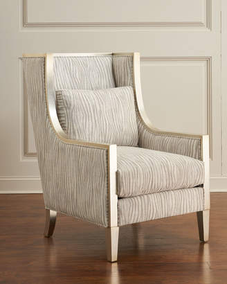 John-Richard Collection John Richard Collection Tori Heirloom High-Back Chair