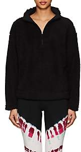 Electric & Rose Women's Plush Fleece Half-Zip Sweatshirt - Black