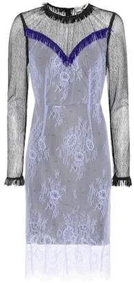 Diane von Furstenberg Embellished lace dress