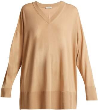The Row Sabrinah oversized fine-wool sweater