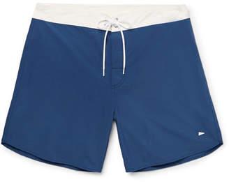 Pilgrim Surf + Supply Dorry Mid-Length Nylon Swim Shorts