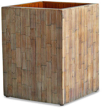 Kassatex Bali Wastebasket - Neutral