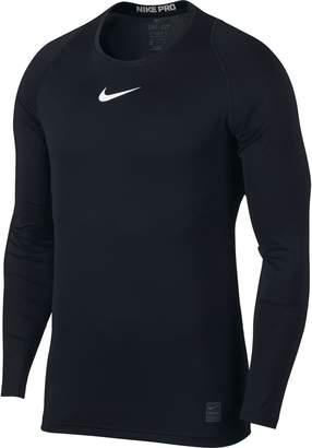 Nike Men's Pro Top Black/White