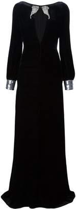 Roberto Cavalli woven maxi dress