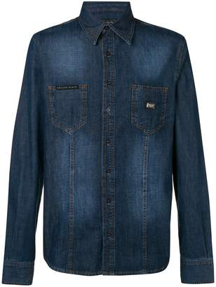 Philipp Plein Fresh denim shirt