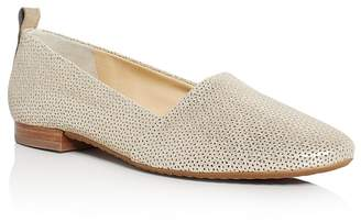 Paul Green Lenny Metallic Perforated Flats $285 thestylecure.com