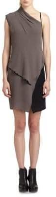 Helmut Lang Layered Contrast Dress