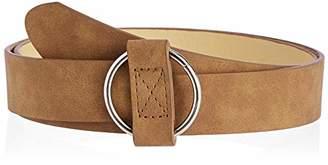 Silver Urbanism Women's O-Buckle Normcore All Match Fashion Belt ()