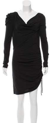 Alice by Temperley Cowl Neck Long Sleeve Dress $75 thestylecure.com