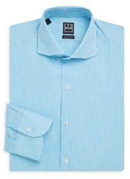 Ike Behar Striped Button-Front Shirt